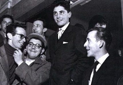 Rene Thomas, Jimmy Gourley, Sacha Distel and Jimmy